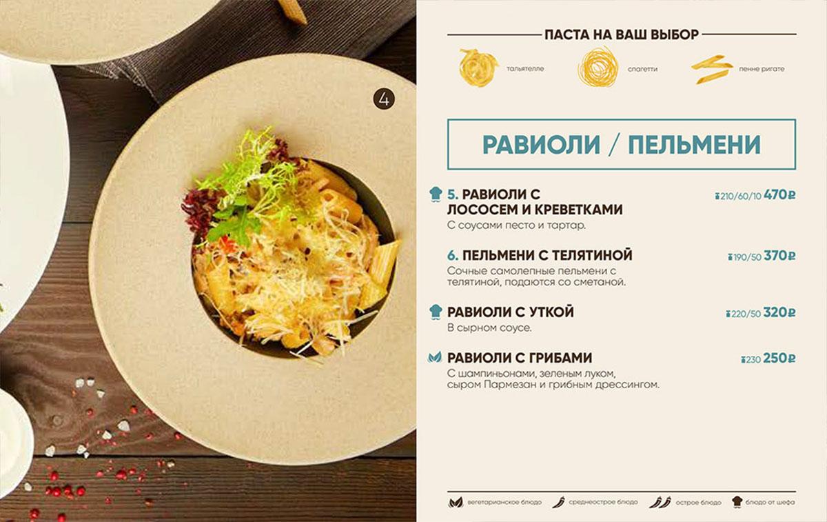 иконки для меню ресторана