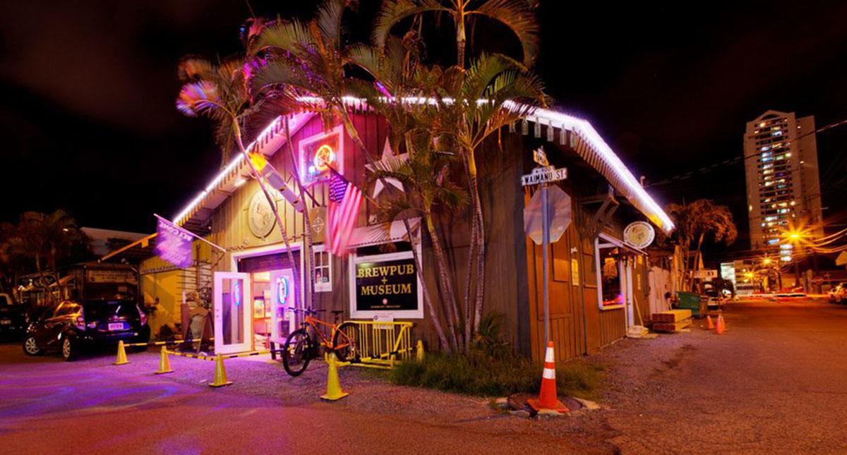 гавайский ресторан brewseum