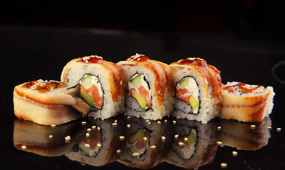 50+ популярных японских названий суши с составом